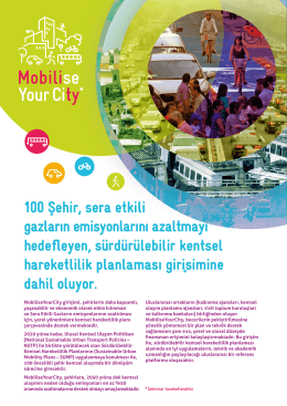 Mobilise Your City*