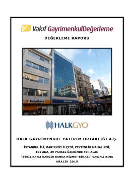 İstanbul Bakırköy Bina (Aralık 2015)