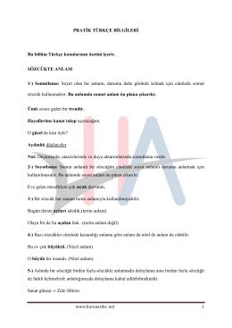 dosyayı indir - Türk Dili ve Edebiyatı Öğretmeni