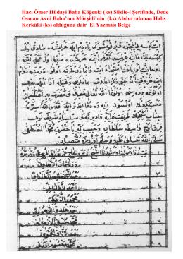 Dede Osman Avni Baba Rehavi (ks), Abdurrahman Halis