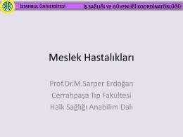 Ek 3 - İstanbul Üniversitesi | Eczacılık Fakültesi