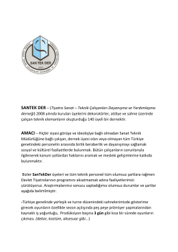 santekder yönetim kurulu 01.03.2015