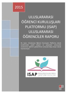 ISAP Uluslarası Öğrenci Raporu (2015)