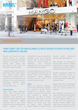 MANGO Mağazalarında İletişim ve Güvenlik Çözümleri