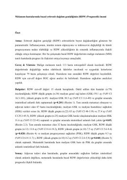 Dr. Vedat Bayoğlu - İmmuno Onkoloji Derneği