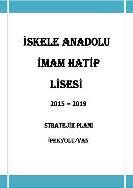 Anadolu İmam Hatip Lisesi - Van İl Milli Eğitim Müdürlüğü Ar