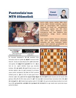 Pantsulaia`nın MTS ölümsüzü