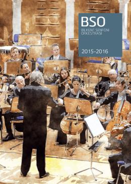 2015-16 Sezon Programı - Bilkent Senfoni Orkestrası