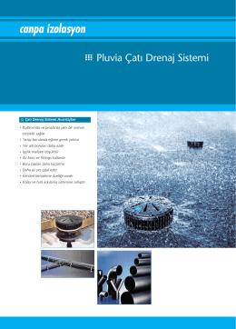 Pluvia Çatı Drenaj Sistemi