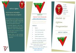 AVHO Eğitim Programı 2015-16
