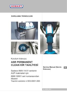 asR peRmanenT CLEAN KİR TAHLİYESİ