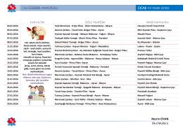 Ocak ayı yemek listesini PDF olarak görüntülemek için TIKLAYIN