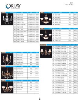 Oktay 2015 Fiyat Listesi