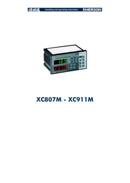 XC807M - XC911M - Alroy İklimlendirme ve Otomasyon