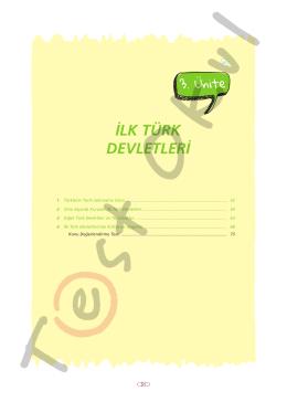 İLK TÜRK DEVLETLERİ - Your Pocket Library