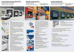 Broşür PDF - ANASAYFA: Hörmann, Hörmann Kapı, Sistem Yapı