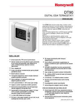 DT90 Kullanım Kılavuzu