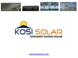 BIPV - Kosi Solar