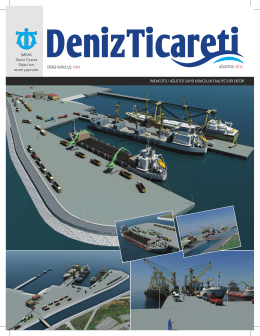 ağustos 2015 - Deniz Ticaret Odası
