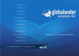teknik özellikler - Global Water Solutions
