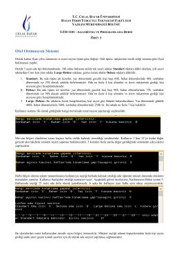 Ödev-1 - Java Yaz…