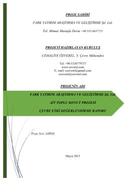 Fark Yatırım Araştırma ve Geliştirme Şti. Ltd.