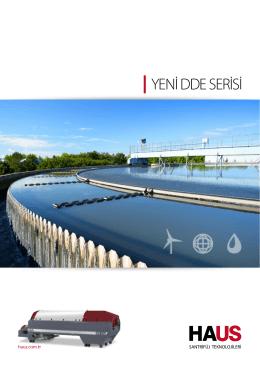 YENİ DDE SERİSİ - HAUS Santrifüj Teknolojileri
