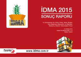 İDMA 2015 - IDMA Değirmen Makineleri Fuarı