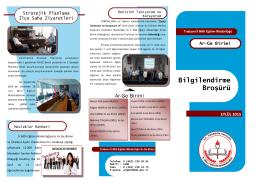 Eylül 2015 Broşürü - TRABZON İL MİLLİ EĞİTİM MÜDÜRLÜĞÜ Ar