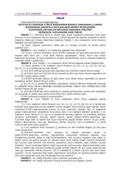 5510 Sayılı Kanunun 4 üncü Maddesinin Birinci