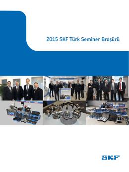 2015 SKF Türk Seminer Broşürü