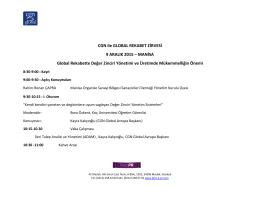 CGN ile GLOBAL REKABET ZİRVESİ 9 ARALIK 2015 – MANİSA