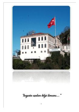 Untitled - Giresun Üniversitesi Eğitim Fakültesi