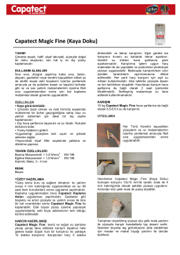 Capatect Magic Fine (Kaya Doku)