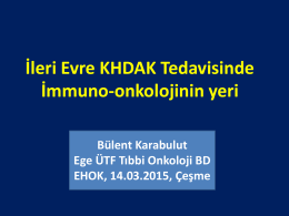 Klinik Çalışmalar Akciğer Kanseri - Nivolumab