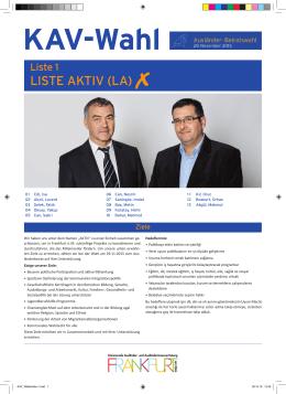 LISTE AKTIV (LA)