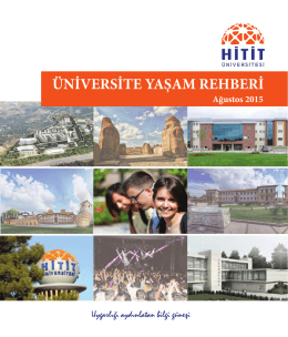 Ulaşım - Hitit Üniversitesi