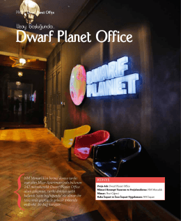 Dwarf Planet Office