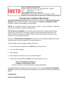INETD, Internet Teknolojileri Derneği
