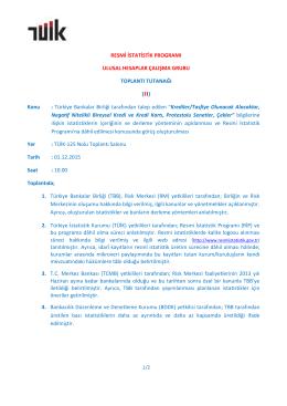 Ulusal Hesaplar_01122015 - RESMİ iSTATİSTİK PORTALI