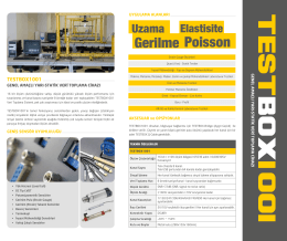 TESTBOX 1001 - Teknik Destek Grubu