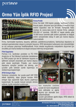 Ormo Textile RFID Project [in Turkish]