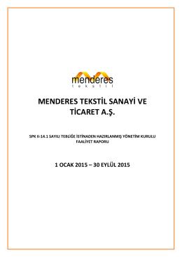 MNDRS Kons Faliyet Raporu 092015