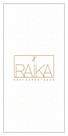 Raika Restoran a la carte tatli menü