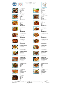 2015-2016 aralık yemek listesi