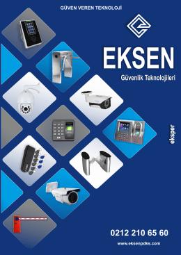 Online Katalog - Eksen Güvenlik Teknolojileri