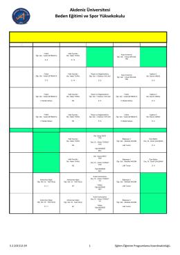 Bölüm-Derslik Programları Bahar 29 01 15.xlsx