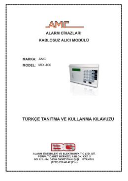 MIX 400.cdr - BG Alarm Sistemleri