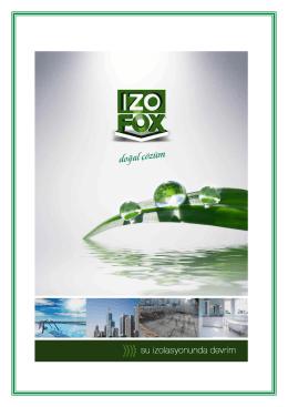 izofox ürün açıklamaları