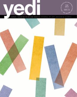 YAZ 2015 Sayı: 14 - Güzel Sanatlar Fakültesi